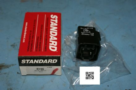 1984-1987 Corvette C4 Single Headlight Relay, Standard RY85, New In Box